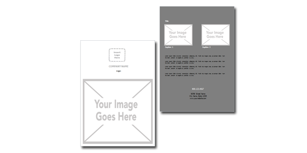 8 5 x 11 brochure template - 8 5 x 11 flat flyer style 3 template bowl