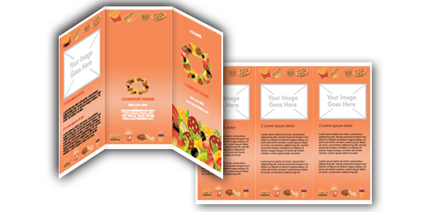 Download Free Microsoft Word Food Brochure Templates