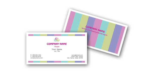 Free microsoft word chic business card templates download now chic business cards flashek Images